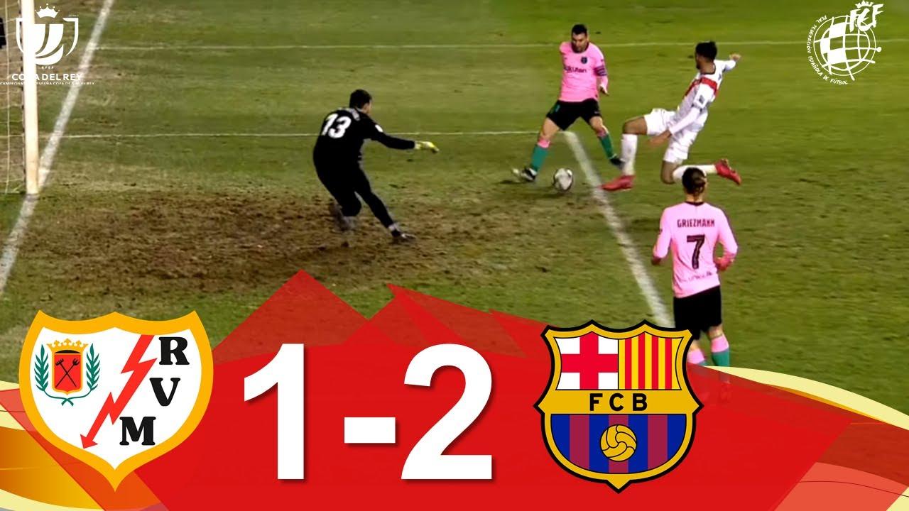 Download RESUMEN   Rayo Vallecano de Madrid 1-2 FC Barcelona   Octavos de final de la Copa de SM el Rey