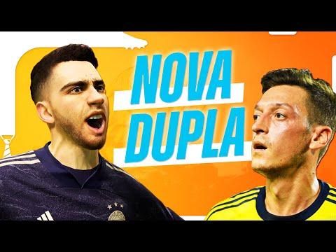 Dupla BIT-ÖZIL começa a BRILHAR! | Carreira Jogador e Treinador #09 | FIFA 21