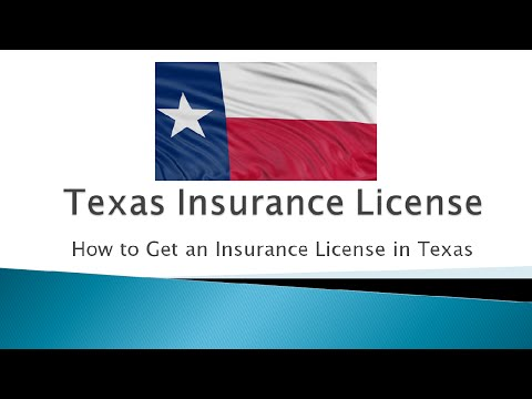 How To Get An Insurance License In Texas To Sell Life And Health Insurance
