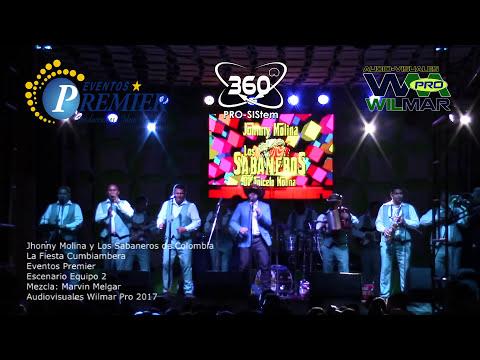 Jhonny Molina y Los Sabaneros de Colombia La Fiesta Cumbiambera