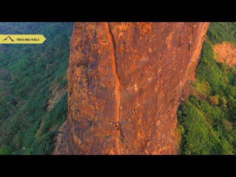 Harihar Fort Trek | Trimbakeshwar | Maharashtra Trek | Drone Video