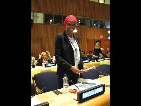 United Nations DPI Conference # BringBackOurGirls Founder Hadiza Bala Usman speech