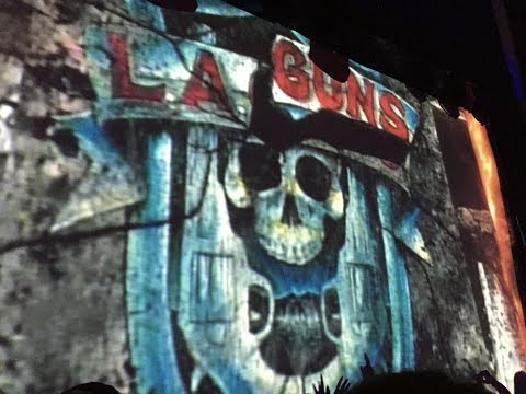 Frontiers Rock at Canyon Club with Warrant & LA Guns December 2, 2017