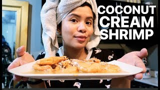 QUARANTINE DAY 29: NAGLUTO AKO NG COCONUT CREAM SHRIMP | SUPER DALI AT SUPER SARAP!