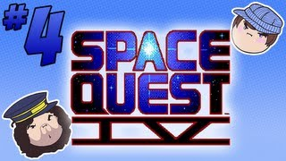Space Quest IV: Deadly, Deadly Slime - PART 4 - Steam Train