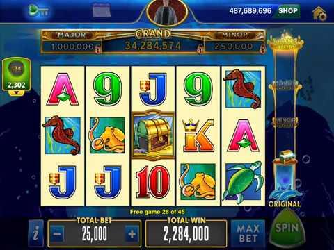 Dolphin Treasure Casino Slot Game