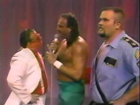 WWFSS 22490 Brother Love with Jake Roberts & Big Bossman