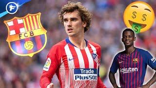 La nouvelle tactique du Barça dans le dossier Antoine Griezmann | Revue de presse