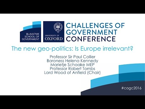The new geo-politics: Is Europe irrelevant?