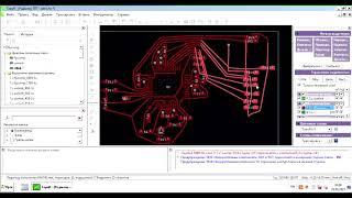 Автотрассировка в Kicad с помощью Topor на примере ST Link.