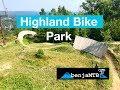 Highland Bike Park on a Hardtail