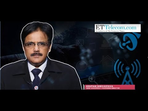 Interview with BSNL CMD Mr Anupam Shrivastava