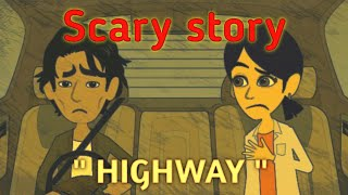 Scary Highway Story  - Scary Story Animated in Hindi