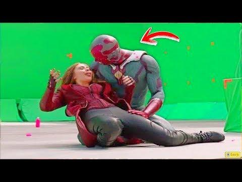 14 Películas Marvel con y sin Efectos Especiales - Antes y después