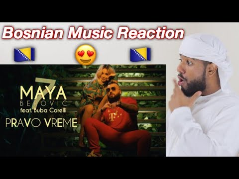 ARAB FIRST TIME REACTION TO BOSIAN MUSIC BY Maya Berović feat. Buba Corelli – Pravo vreme *LOVE IT*