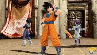 j stars victory vs ps4 goku vegeta frieza vs naruto sasuke madara gameplay full hd 1080p