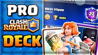 The Viiper Deck - Playing PRO Deck in Clash Royale!