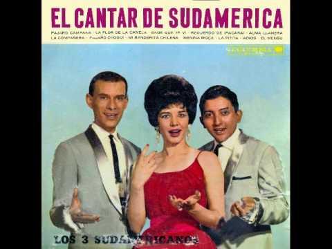 CANTAR DE SUDAMERICA - LOS 3 SUDAMERICANOS - Discos Columbia