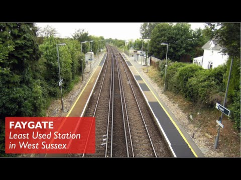 Faygate - Least Used Station in West Sussex