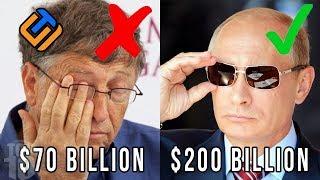 Android - GILA..!! Kekayaan Bill Gates Tak Sebanding Dengan 10 Orang Terkaya Di Dunia Ini