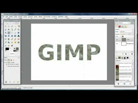 how to make thick circle in gimp