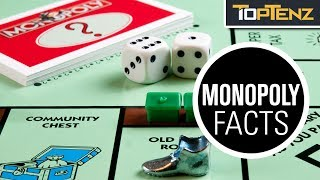 Top 10 Interesting FACTS About the Board Game MONOPOLY