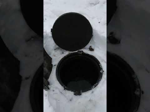 Перепадные колоды для водоотведения сучастка с конторуклоном