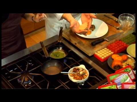 Chef's Kitchen - David Banks makes Pan Roasted Quail using Dorot Herbs