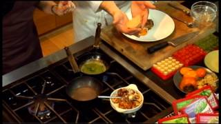Chefs Kitchen - David Banks makes Pan Roasted Quail using Dorot Herbs