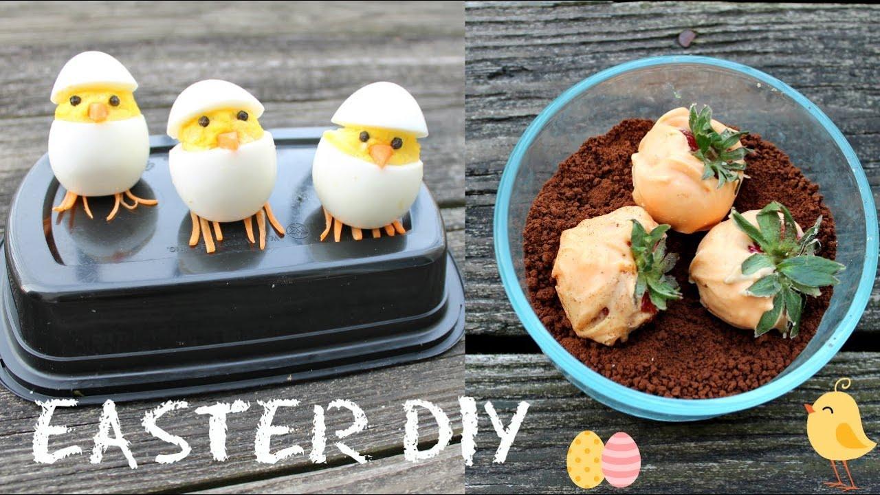 2 Cute DIY Treats! Hatching chicks + Carrot garden Dirt ...