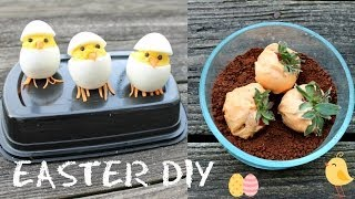 2 Cute Diy Treats! Hatching Chicks + Carrot Garden Dirt Dessert {easter Sunday Special}