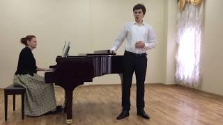 """Давид Большов (бас): Первая ария Зарастро из оперы В. Моцарта  """"Волшебная флейта"""""""