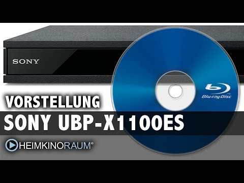 High-End 4K UltraHD Blu-Ray Player: SONY UBP-X1100ES