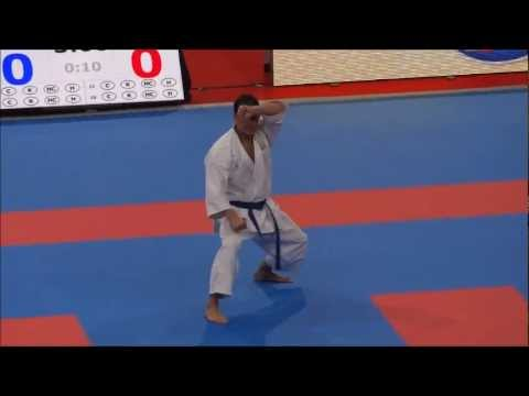 Kata SOCHIN by Luca Valdesi - 21st WKF World Karate Championships