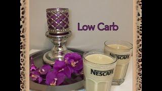 Low Carb Frühstück Buttermilch Espresso Smoothie