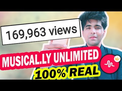 HOW TO GET VIEWS ON MUSICAL.LY TUTORIAL IN HINDI | INCREASE MUSICAL.LY VIEWS 1000 EVERYDAY 100 %REAL