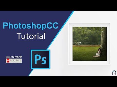 Photoshop CC Tutorial | طريقة عمل معرض لصور في برنامج الفوتوشوب