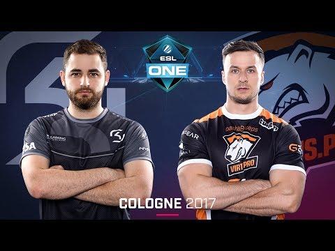 CS:GO - SK vs. Virtus.pro [Mirage] - Swiss Round 2 - ESL One Cologne 2017