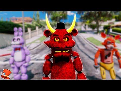 NEW DEVIL FREDDY ANIMATRONIC! (GTA 5 Mods For Kids FNAF RedHatter) thumbnail