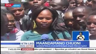 Maandamano chuoni: wanafunzi wapinga kuhamishwa kwa mkuu wao
