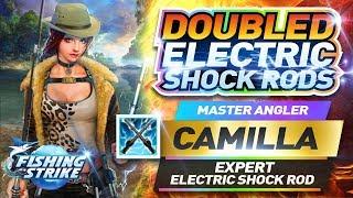 【釣魚大亨 Fishing Strike】Master Angler Camilla Expert Electric Shock Rod  卡米拉