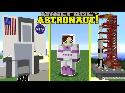 Minecraft: WE BECOME ASTRONAUTS!! - ASTRONAUT TRAINING SCHOOL - Custom Map