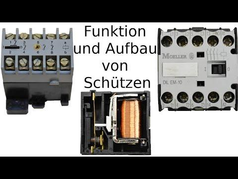 Funktion und Aufbau - Schütz (und Relais)