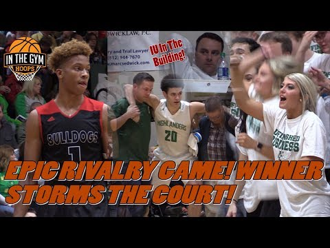 EPIC RIVALRY! Romeo Langford and New Albany vs Floyd Central! Winner Storms Court!