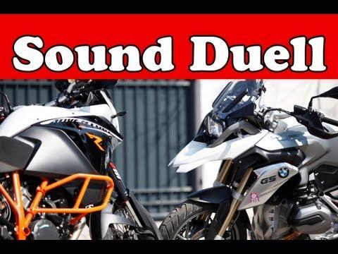 SOUND-Vergleich | BMW R 1200 GS VS KTM 1190 Adventure R |  2013
