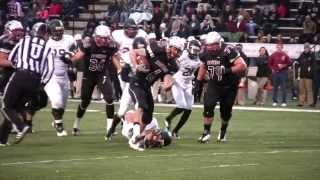 UIndy Football Klay Fiechter Leading Rusher Commercial 11-9-13