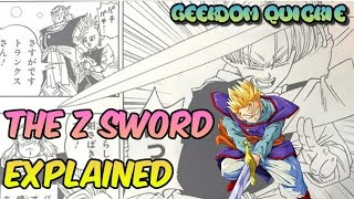 Future Trunks and The Z Sword Explained in Dragon Ball Super