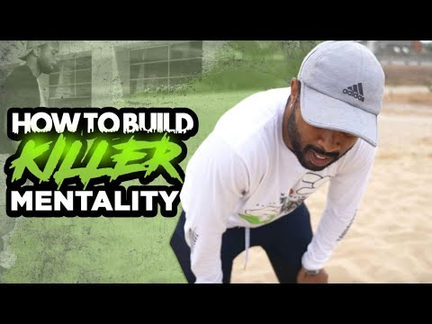 HOW TO BUILD KILLER MENTALITY!! THE WALL!! #AGeditchallenge