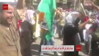 بالفيديو و الصور ...مسنات يرقصن علي أنغام بشرة خير وتسلم الأيادي بميدان طلعت حرب
