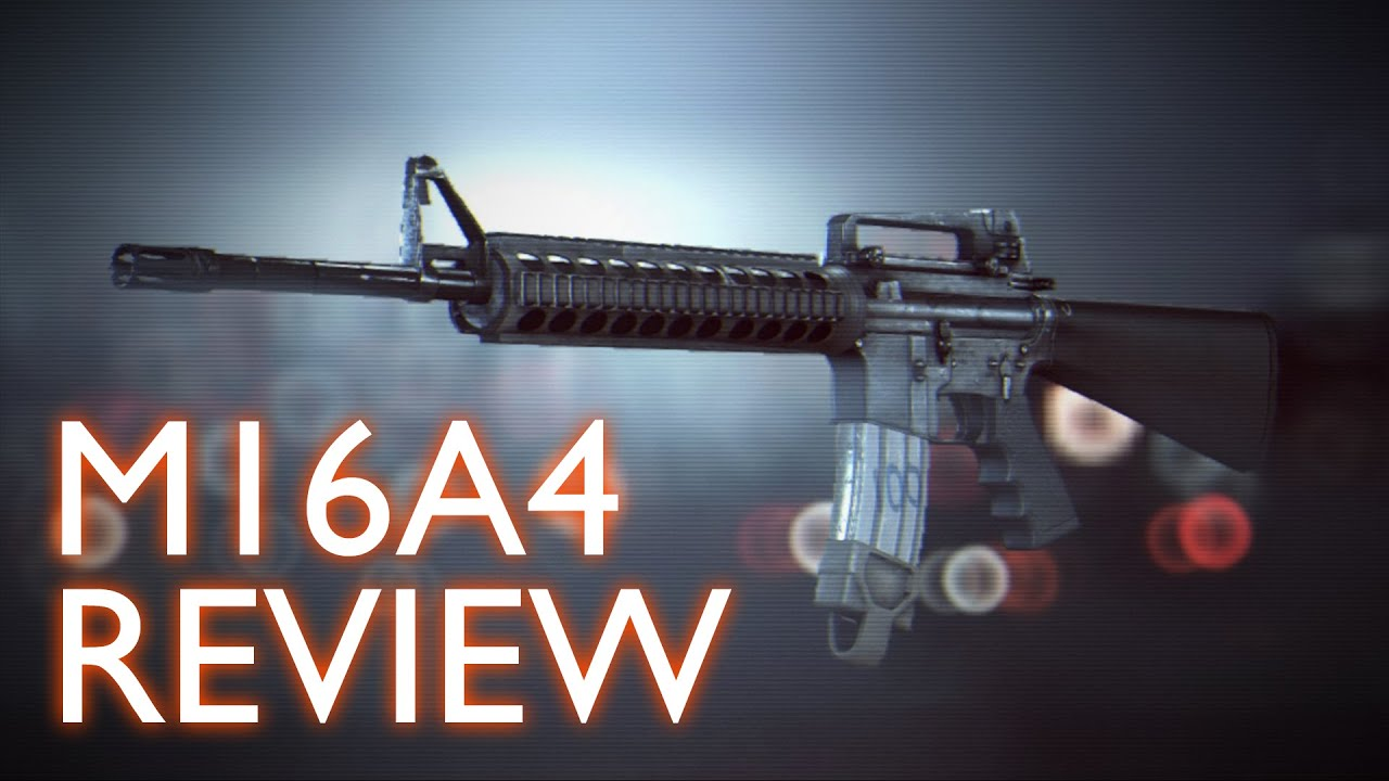 Battlefield 4 - M16A4 Review & Tips (Gameplay, Commentary ... M16a4 Bf3